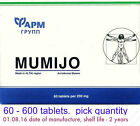 60-600 tablets Refined High Quality Altai Shilajit Pure Supplement mumio mumijo
