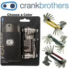 Crank Brothers M19 Multi Tool Silver or Gold Chain Breaker Torx w/ Case 19 Tools