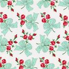 Michael Miller Faye Retro Floral Chic Bows - FQ Half or Meter Sew Quilt FREEPOST