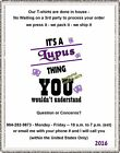 T-Shirt - It's a LUPUS THING - You wouldn't understand / LUPUS Awareness