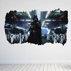 Darth Vader Star Wars Boys Bedroom 3D Hole Wall Sticker Decal Art Vinyl Poster