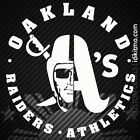 Oakland Raiders Athletics Decal on Ebay
