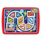 Fred Dinner Winner Children&#039;s Dinner Tray - Forest Pirate Hero Fussy Eaters Kids <br/> New Designs - Kids Christmas Birthday Occasion Gifts