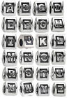NEW! Authentic Pandora Alphabet Letter Charm #790323 RETIRED