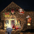 Outdoor Christmas Landscape Decoration Moving Laser Projector LED Light Lamp