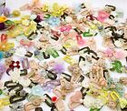 Assorted fashion flower style Baby Gilrs Pet Dog Hair Bow Clips Accessories