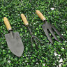 More images of Steel Hand Spade /  Rake / Fork SET Gardening Digging Cleaning with Wooden Grip