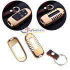 Exact Fit Gold Aluminum Remote Smart Key Fob Shell Cover For 14-up Jeep Cherokee