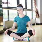 Dry Quick t shirt compression tights women's short sleeve fitness T shirt tops