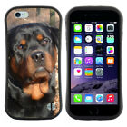 Anti-Shock Tpu Case Bumper Cover For Apple iPhone Rottweiler in autumn forest