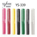 YS Park 339 - Fine Cutting Hair Comb Y.S.Park Black Camel Pink Red Carbon Japan