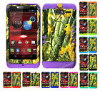KoolKase Hybrid Cover Case for Motorola Droid Razr M XT907 - Camo Mossy 08