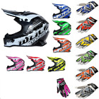 New Kids Wulfsport Motocross Helmet & Gloves (ALL COLOURS + SIZES) Youth Child