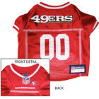 San Francisco 49ers NFL Dog Pet  Football Jersey (all sizes) $19.65 USD on eBay