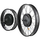 "48V Front Fat Tire Electric Bike Conversion Kit 20""/3 1/4""  26""/3 1/4"" Width Rim"