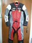 Büse Leather suit Motorcycle leathers blue/black Size 54 Two piece
