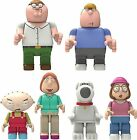 K'Nex Family Guy Peter Griffin, Lois, Stewie Buildable Construction Figures NEW