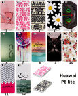 Soft TPU Patterned Rubber Silicone Gel Skin Case Cover For Huawei Ascend P8 Lite