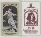 2011 Topps Gypsy Queen Mini Red Back #95 George Sisler Boston Braves Card