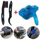 Cycling Bike Bicycle Chain Wheel Wash Cleaner Brushes Scrubber Tool Kit