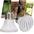 25-100W Pet Reptile Breed Ceramic Heat Emitter Heater Light Brooder Lamp Bulb ES