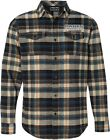 Throttle Threads Parts Unlimited Plaid Flannel Shirt