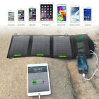 5V Solar Panel Foldable USB-PORT Charger Backup iPhone Mobile Phones 5V Devices