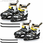Ice Hockey Skates Skating Shoes Boots Blade Guards Adult Child Adjustable Size