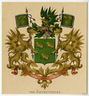 Antique Print-HERALDRY-COAT OF ARMS-VAN RIJCKEVORSEL-Wenning-Rietstap-1883