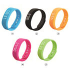 Fashion Sport Smart Wristband Bracelet 3D Pedometer LED Sleep Monitor Tracker SN
