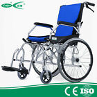 Cofoe lightweight aluminum folding back portable Self Propelled Wheelchair