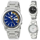 Seiko 5 Stainless Steel Men's 21 Jewel Automatic Watch
