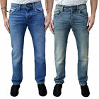 Mens Voi Regular Fit Stretch Comfort Fit Designer Stonewash Denim Jeans Pants