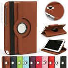 360 Rotating Flip PU PC Case Cover Pouch For Samsung N5100 Tablet Colour Choice