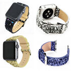 38MM/42MM Bling Wrist Watch Band Bracelet Strap Belt For Apple Watch iWatch I26