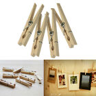 10/30/50/100pcs New Clothes Pins Traditional Wooden Clip Spring Clothespins
