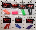Two Sets Viper Sure Grip Darts REPLACEMENT SLEEVES Choice of Colors