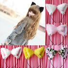 Fashion Girl's Cute Cat Fox Ears Long Fur Headband Anime Cosplay Party Costume