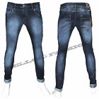 Jeans Uomo Vita Bassa Denim Comfort Slim Fit Klixs Made In Italy Bellois Fashion