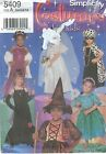 Simplicity 5409 Girls' Costumes 3, 4, 5, 6, 7, 8   Sewing Pattern