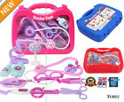 Kids Childrens Role Play Doctor Nurses Toy Medical Set Kit Gift Hard Case TG012