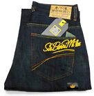 Sir Benni Miles Herren Hosen Heroes Denim Baggy Jeans dark blue 5 Pocket Jeans