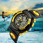 Waterproof 12/24hrs Date/Alarm LED Digital Sport Watch For Kids Boys Girls Teens