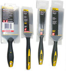 """1"""" - 3"""" genuine STANLEY comfort grip PAINT BRUSHES Max Finish BRUSHES & KEEPERS"""