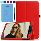 "PU Leather Stand Case Full Cover for Samsung Galaxy Tab A 10.1"" SM-P580 w/ S Pen"