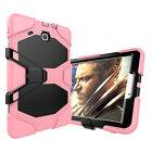 Shockproof Military Heavy Duty Armor Stand Case Cover For Samsung Tab E 9.6 T560