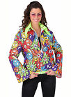 70's Bright Flower Power Jacket
