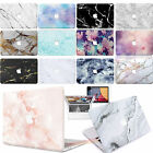 "Rubberized Marble Matt Hard Case Cover For new Macbook Pro 13""15"" Air 11"" 13"""