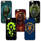 Apple iPhone Rubber TPU case patterned world of warcraft horde orc mark sign wow