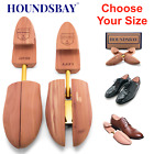 HOUNDSBAY Men's Cedar Shoe Tree with Wide Heel and Adjustable Split Toe - 1 Pair